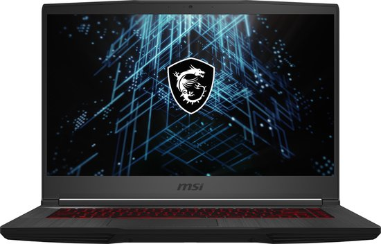 MSI Thin GF65 10UE-010BE - Gaming Laptop - 15.6 Inch - Azerty