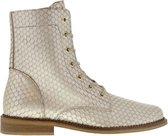 Tango | Pleun cartel 12-k platino gold leather boot - natural sole | Maat: 40
