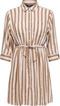 ONLY ONLTAMARI 3/4 SHIRT DRESS WVN NOOS Dames T-Shirt jurk - Maat 38