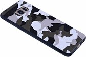 - Samsung Galaxy S8 Luxe Camouflage Back Cover Snow