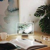 LED Fotokader 'Glo' (Medium) - Umbra