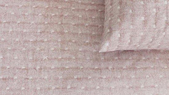 Ariadne at Home Looks – Dekbedovertrek – Eenpersoons – 140×200/220 cm  cm – Nude