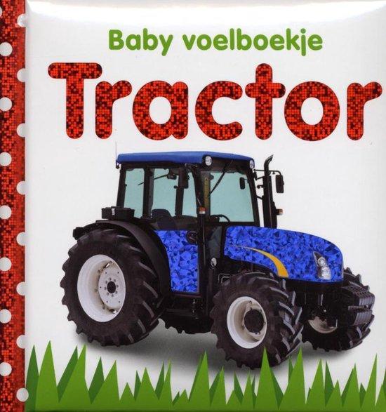 Baby voelboekje - Tractor - TextCase  