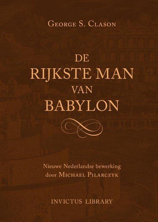 Boek cover De Rijkste Man van Babylon van George Samuel Clason (Hardcover)