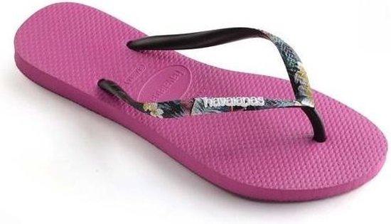 Havaianas Slippers - Vrouwen roze/zwart/wit/blauw - Maat 41/42 eBazMsMT