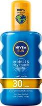 NIVEA SUN Zonnebrand - Protect & Refresh Transparante Zonnespray - SPF 30 - 200 ml