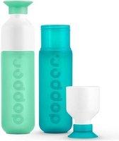 Dopper - duo set 2 kleuren - Mintata en SeaGreen