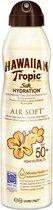 Hawaiian Tropic Silk Hydration Air Soft Sunscreen Mist Spf50+ 177ml