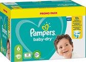Pampers Baby-Dry Maat 6, 80 Luiers, Tot 12 Uur Bescherming, 13-18kg