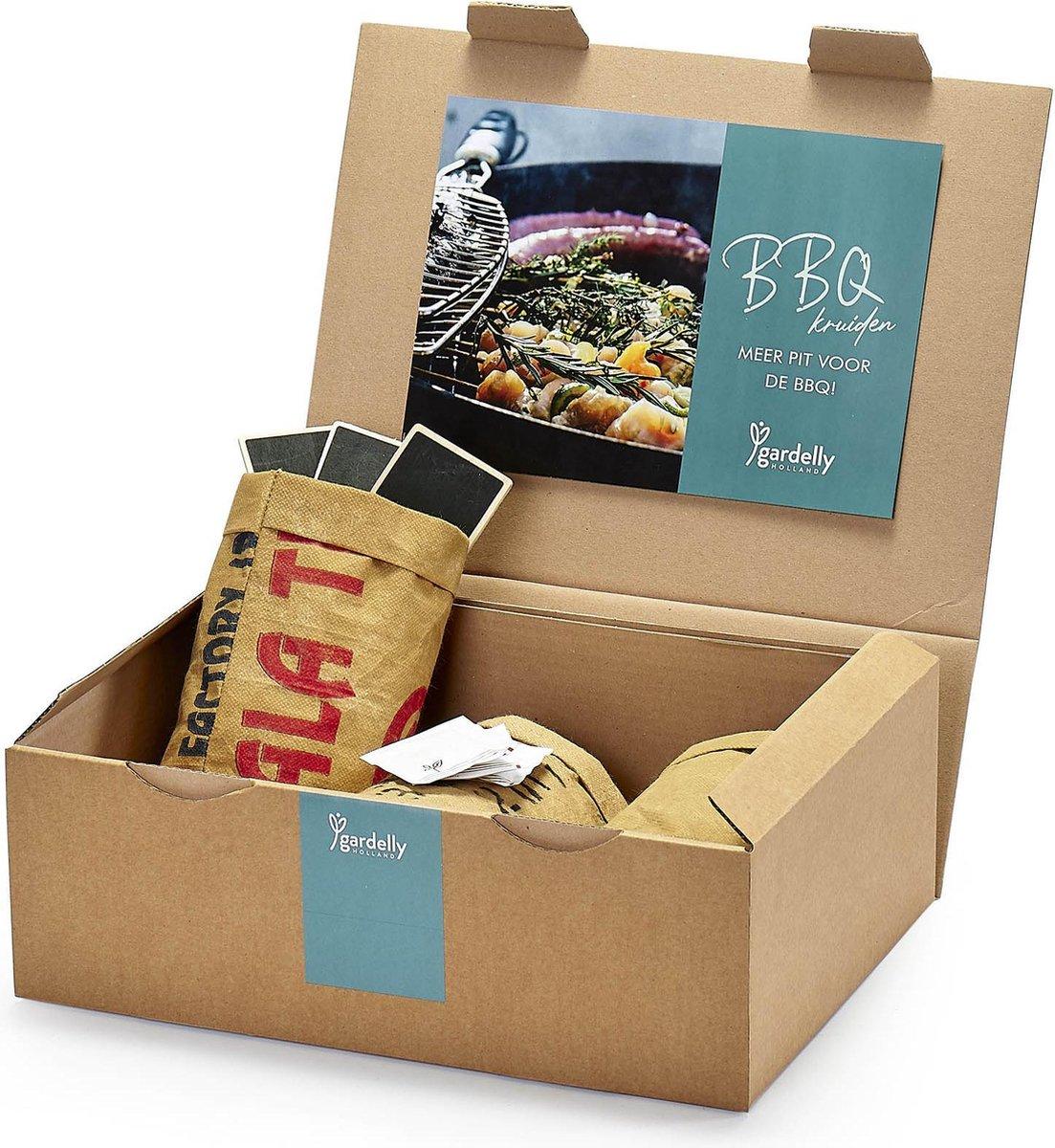 BBQ Kruiden Kweken (3x Kruidenzaden, Stekers en Potgrond | Gardelly)