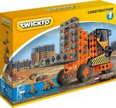 Twickto constructiespeelgoed - bouwset - Heftruck, graafmachine en kraan -134delig- Construction #1