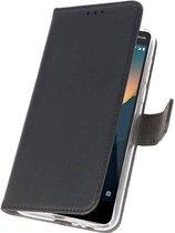Wicked Narwal | Wallet Cases Hoesje voor Nokia 2.1 Zwart