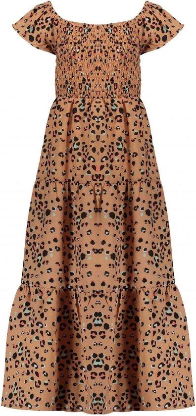 Wonderbaarlijk bol.com | NONO Meisjes Off-shoulder maxi jurk Malia in XQ-87