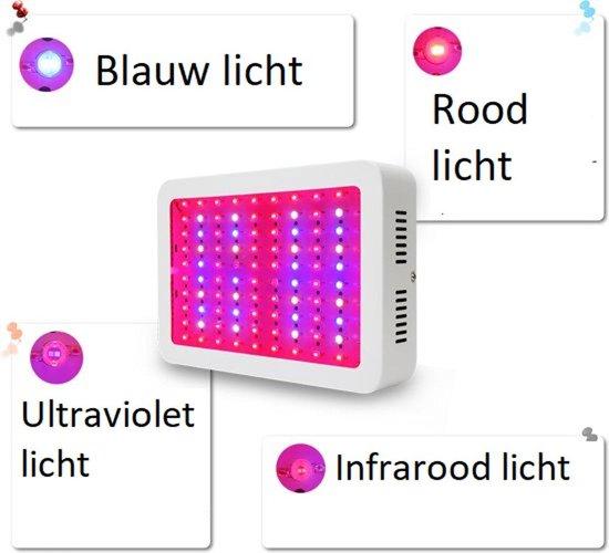 Professionele LED Kweeklamp - 1000W - Full spectrum groei en bloei