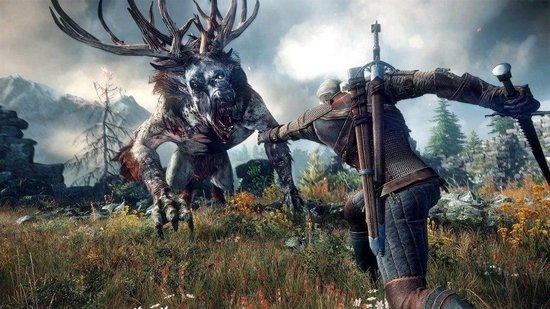 The Witcher 3: Wild Hunt - Game of The Year Edition - PS4