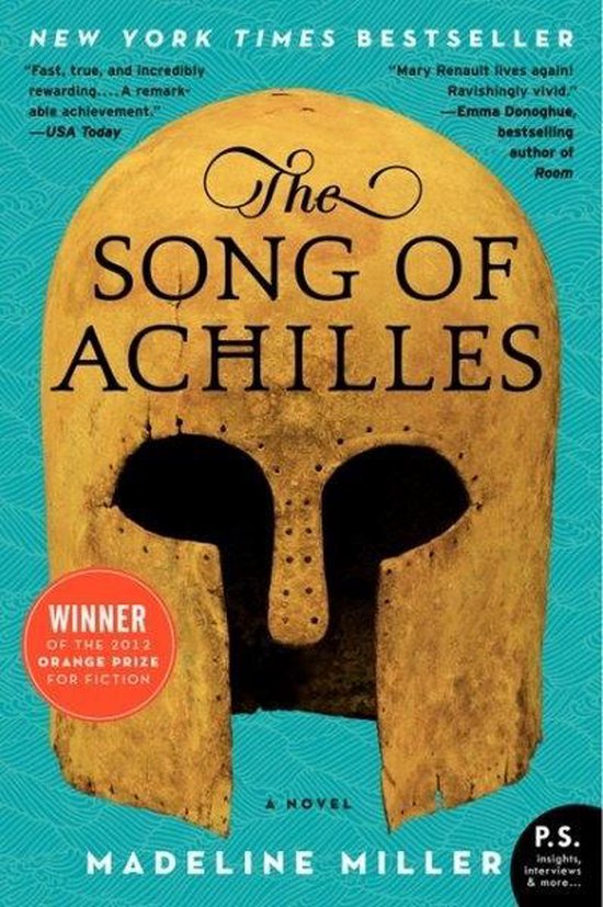 Boek cover The Song of Achilles van Madeline Miller (Paperback)