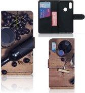Xiaomi Redmi 7 Book Cover Wijn