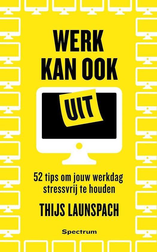 Boek cover Werk kan ook uit van Thijs Launspach (Paperback)