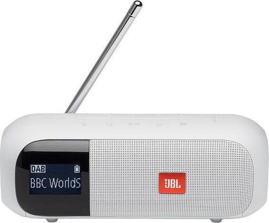 JBL Tuner 2 – Draagbare DAB+ radio met Bluetooth – Wit