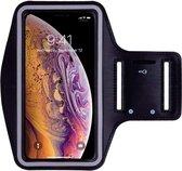 Sport / Hardloop Armband (ZWART) voor iPhone 11 - Spatwaterdicht, Reflecterend, Neopreen, Comfortabe