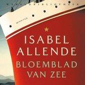 Boek cover Bloemblad van zee van Isabel Allende