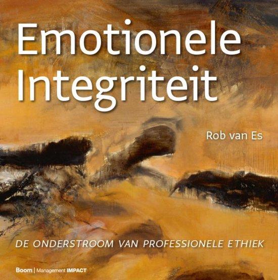 Boek cover Emotionele integriteit van Rob van Es (Hardcover)