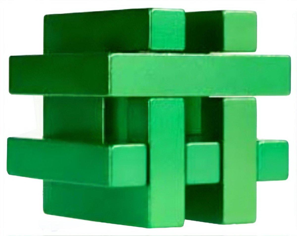 Eureka 3d Puzzle Breinbreker Puzzel In Blik Groen