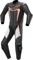 Alpinestars Motegi V3 Black Red Fluo White 1 Piece Motorcycle Suit 52