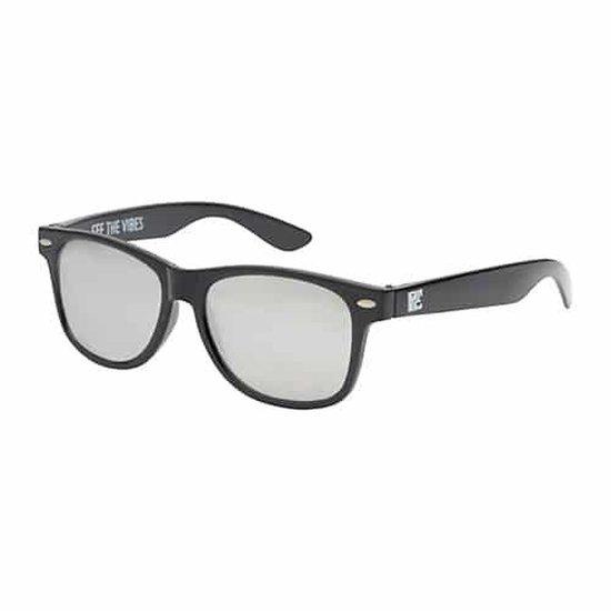 ® | Spacebril spiegel zilver | zwart