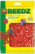 SES Beedz Strijkkralen - 1000 Stuks - Rood (00702)