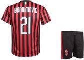 AC Milan Voetbalshirt + broekje - Zlatan Ibrahimovic - Tenue - 2019-2020 - Kinderen - Senior - 152