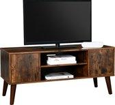 Nancy's Archer Heights TV-Kast Vintage - TV-Meubel Industrieel - TV Tafel Retro - Tv Meubels - Tv Meubel Hout - 110 x 40 x 49,5 cm