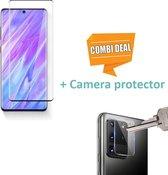ShieldCase Tempered Glass Screenprotector + camera glass Samsung Galaxy S20 Ultra