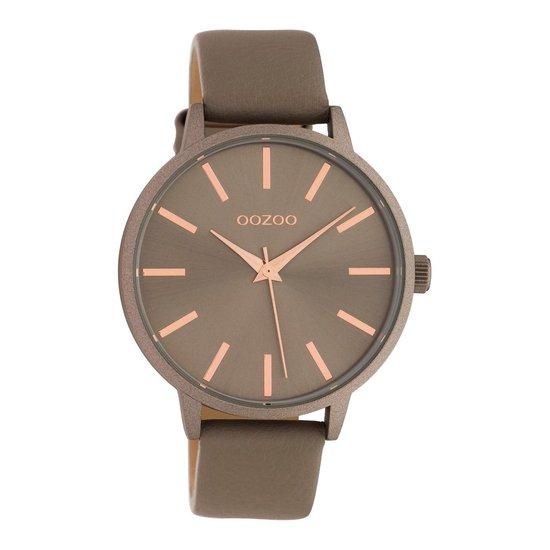OOZOO Timepieces Taupe horloge C10612