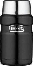 Thermos King Voedseldrager XL - 710 ml - Zwart