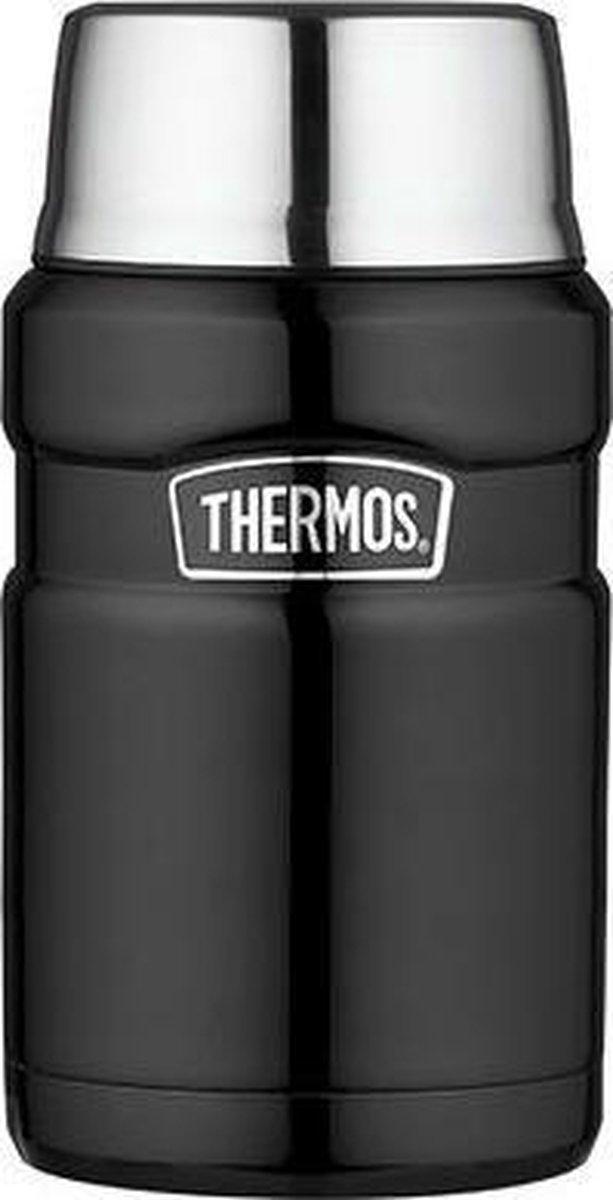 Thermos King Voedseldrager XL - 710 ml - Zwart - Thermos