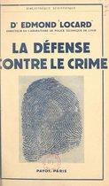 La défense contre le crime