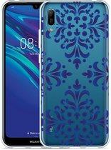 Huawei Y6 2019 Hoesje Delfts Blauw