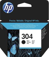 HP 304 - Inktcartridge - Zwart