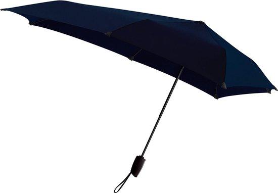 senz° Automatic Stormparaplu - Opvouwbaar - Ø 91 cm - Midnight Blue - senz°