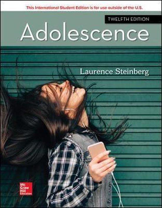 Boek cover ISE Adolescence van Laurence Steinberg (Paperback)