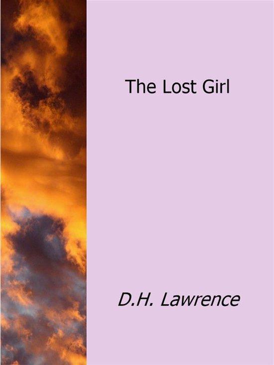 Boek cover The Lost Girl van D.H.Lawrence (Onbekend)