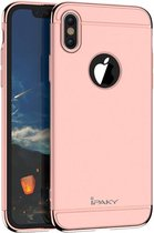 iPaky 3-in-1 Hardcase iPhone X - Rosé Goud