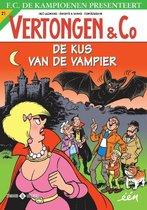 Boek cover Vertongen en C° 21 -   De Kus van de Vampier van Hec Leemans