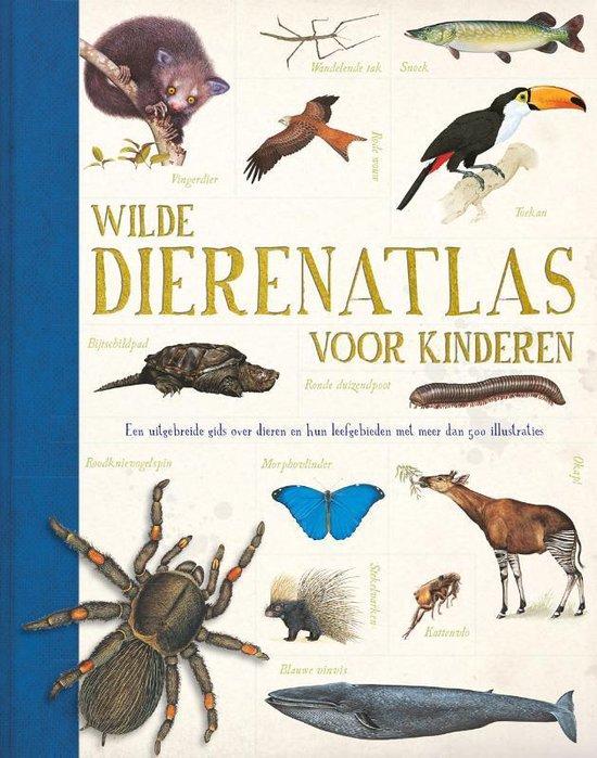 Wilde dierenatlas voor kinderen - John Farndon |