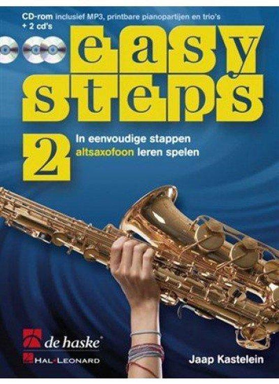 Easy Steps deel 2 methode voor Altsaxofoon