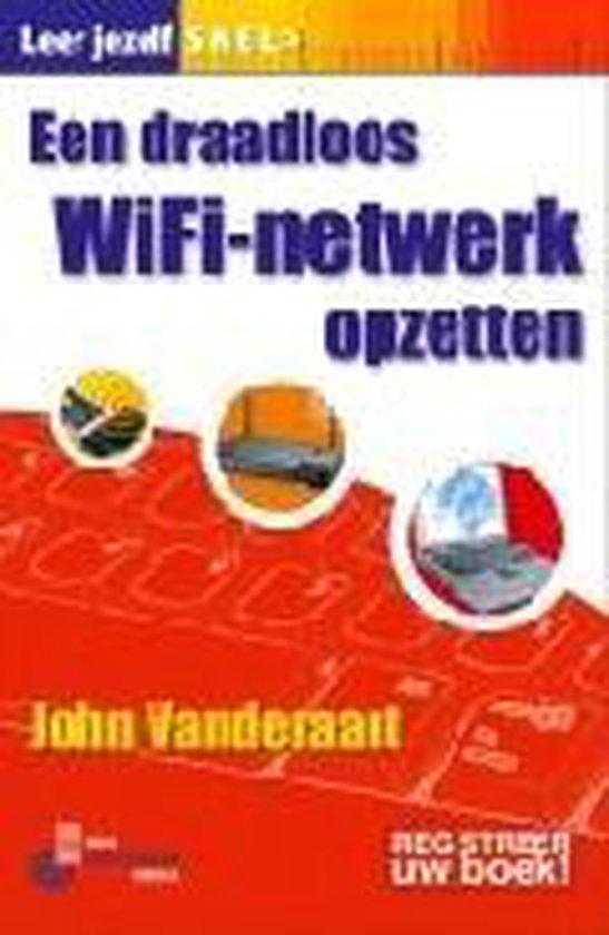 Cover van het boek 'Leer jezelf snel een draadloos Wifi-netwerk opzetten'