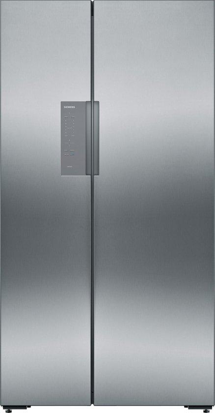 Koelkast: Siemens KA92NVI35 iQ300 - Amerikaanse koelkast - RVS, van het merk Siemens