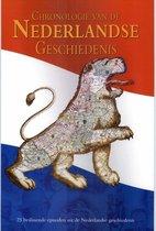 Boek cover Chronologie Van De Nederlandse Geschiedenis van Jaap Verschoor