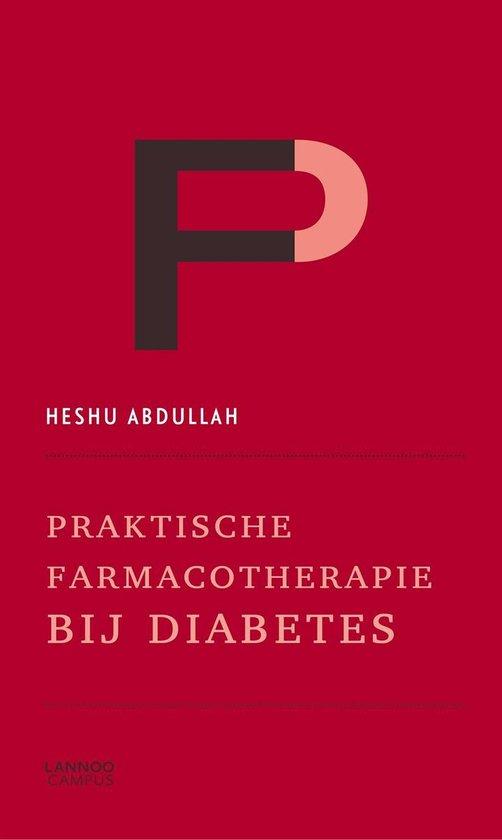 Boek cover Praktische farmacotherapie bij diabetes van Heshu Abdullah-Koolmees (Paperback)